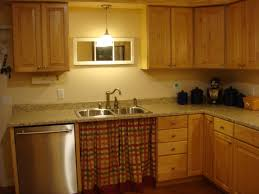 Kitchen Cabinet For Sink Lights Under Kitchen Cabinets Lovely Kitchen Features Tan Shaker
