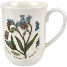 portmeirion botanic garden tulip beaker mug forget me not louis potts