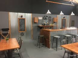Industrial Warehouse Style Bar