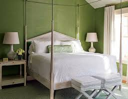 Modern Green Bedroom The Modern Home Decor Bedroom With Green Wall Paint In Bedrooms
