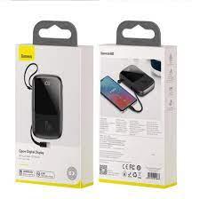 Pin sạc dự phòng mini hỗ trợ sạc nhanh 15W 10.000 mAh 2 cổng USB và