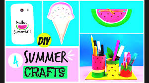 diy summer ideas easy projects for room decorations desk