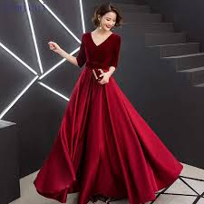 <b>Evening</b> Dress New 2019 Black <b>Chiffon Luxury Beading</b> Long ...