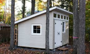 how to build a mono pitched roof shed