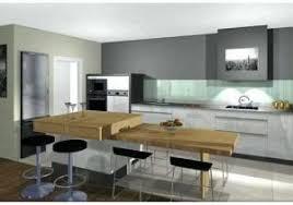 Cuisine Ilot Table Escamotable Ilot Cuisine Avec Table Coulissante