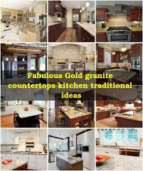 Venetian Gold Granite Kitchen Gold Granite Countertops Kitchen Traditional With New Venetian