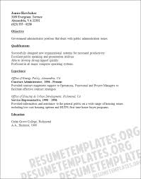 Sample Resume: Masters Of Public Administration Resume Sales.
