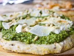 Résultats de recherche d'images pour «vegan pesto pizza»