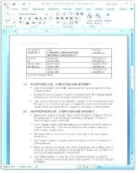 Sample Instruction Manual Template Classy Policy Procedure Template Word 44 Security Manual Templates Sample