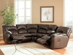 small black leather corner sleeper couch with recliner awesome leather sectional sofas with recliners