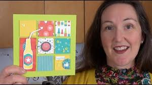 stamping 101 how to make an art sampler frame with upcycled cardboard easel