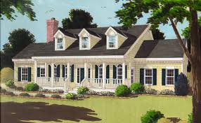 Cape Cod House Plans  1950s America StyleCape Cod Home Plans