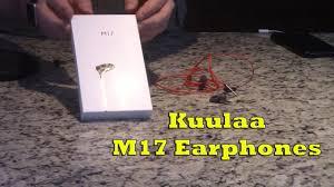 <b>Kuulaa</b> M17 <b>Earphones</b> Review - YouTube