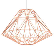 copper lighting fixture. buy george home copper origami pendant light shade from our lighting range today asda direct fixture