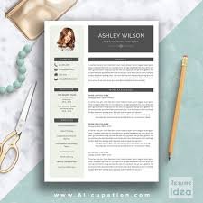 Modern Resume Template Word Professional Cv Format Amazing