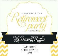 Retirement Invitations Free Free Retirement Party Invitations Templates Cryptoforpak