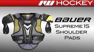 Bauer Shoulder Pad Size Chart Bauer Supreme 1s Shoulder Pad Review