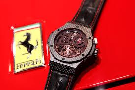 Watches And Formula 1 Episode 2 Ferrari And Hublot Monochrome Watches