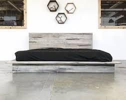 Platform bed | Etsy
