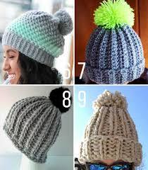 Chunky Yarn Crochet Hat Pattern