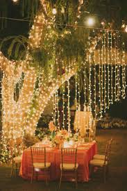 christmas exterior lighting ideas. Use Christmas Lights All Year Round: Turn Your Backyard Into An Enchanting Paradise Fit For A Romantic Dinner. Exterior Lighting Ideas O