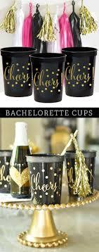 Elegant Party Decorations Bachelorette Party Decorations Bachelorette Party Cups Black And