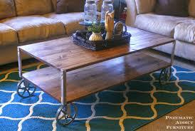 Diy Industrial Coffee Table Pneumatic Addict 50 Diy Industrial Decor Ideas