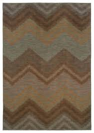 oriental weavers milano 2923c brown blue area rug contemporary area rugs by burroughs hardwoods inc