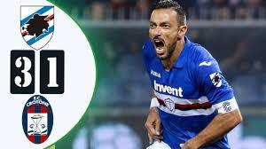 Sampdoria VS Crotone 3-1 🔥 ⚽🔴 Highlights Serie A Italy Dec 2020 /  2021⚽🔴🥅 Extended & All Goals Ps2 - YouTube