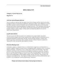 Oracle professional resume Hris Analyst Resume
