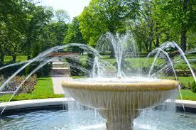 garden fountain. Beautiful Garden Inside Garden Fountain