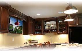 Rec room lighting Exposed Beam July 23 2015 Featured Project Basement Home Theater And Rec Room Usilluminations Featured Project Basement Theater And Rec Room