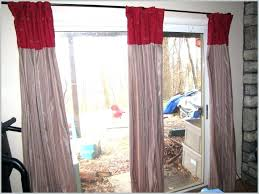 patio door curtain ideas over curtains sliding glass rod modern standard curtai