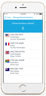 Get International Phone Numbers Justcall