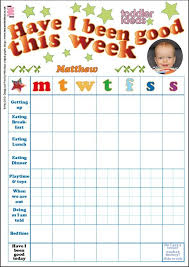 Printable Toddler Incentive Chart For The Kiddos Kids
