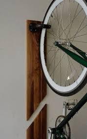 vertical bike rack made of steel pipes