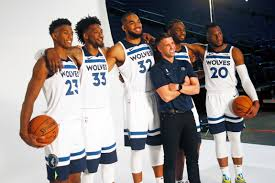 Only the Timberwolves expect they'll be ...