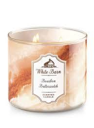 Bourbon Butterscotch 25 Bath Body Works Fall Candles 2017
