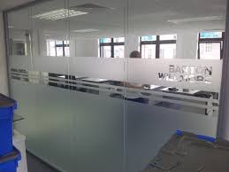 office glass frosting. Edinbrugh Office Window Frosting Graphics Manchester Glass T