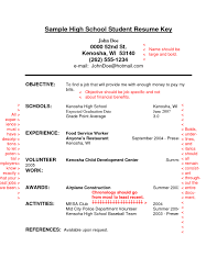 High School On Resume Resume For Study