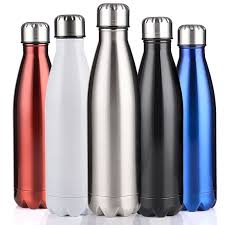350 500 750 1000ml double wall insulated vacuum flask stainless steel water