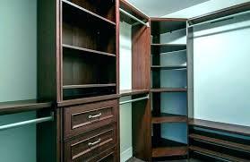 allen roth closet system 8 ft wood closet kit