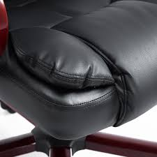 contemporary leather high office chair black. Full Size Of Office-chairs:high Back Executive Office Chair High Desk Contemporary Leather Black O