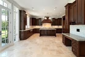 Kitchen With Dark Floors Picture Of White Kitchen With Dark Floor One Of The Best Home Design