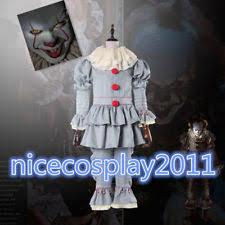 pennywise the dancing clown bob gray mask it horror helmet latex  2017 american horror film it pennywise the dancing clown bob gray cosplaycostume