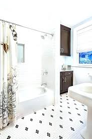carrera marble bathrooms marble subway tiles subway tile shower bathroom transitional with marble black and white