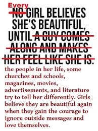 Telling A Woman She Is Beautiful Quotes Best of No Girl Believes She Is Beautiful Until NO Just NO Is This What