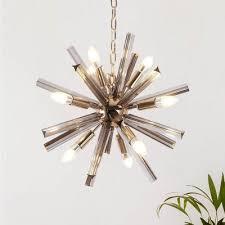 sputnik chandelier light fixture modern