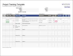 Hours Worked Excel Template Download A Free Project Tracking Template To Use As A Communication