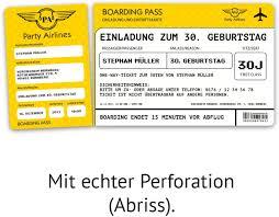 Travelstart bietet billige flugtickets in die ganze welt an. Einladungskarten Zum Geburtstag 30 Stuck Als Flugticket Ticket Karte Einladung In Gelb Amazon De Burobedarf Schreibwaren